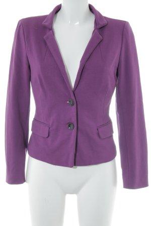 Comma Jerseyblazer violett Elegant