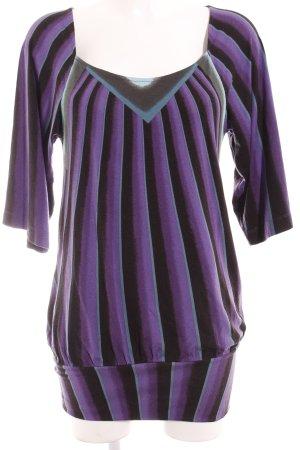 Comma Jerseykleid abstraktes Muster 90ies-Stil