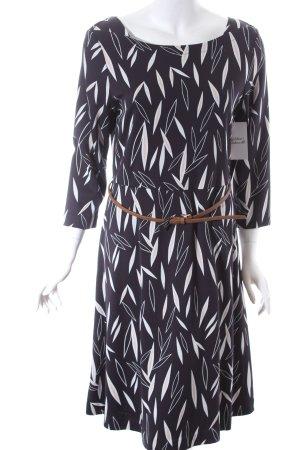 Comma Jerseykleid Allover-Druck Elegant