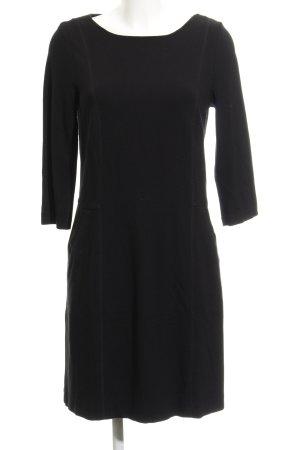 Comma Jerseykleid schwarz Casual-Look