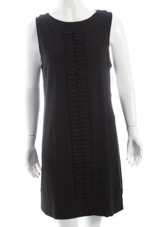 Comma Jerseykleid schwarz schlichter Stil