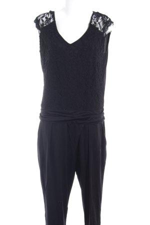 Comma Jumpsuit schwarz Casual-Look