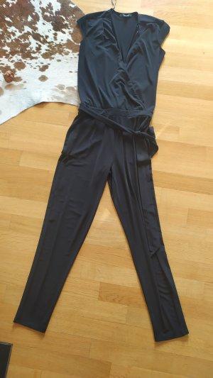 Comma Jumpsuit schwarz gr 34 XS wie neu
