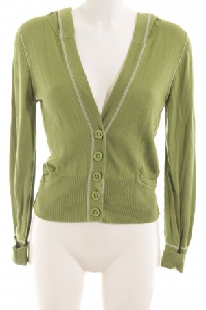 Comma Hooded Vest green casual look