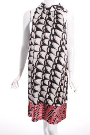 Comma Kleid abstraktes Muster extravaganter Stil