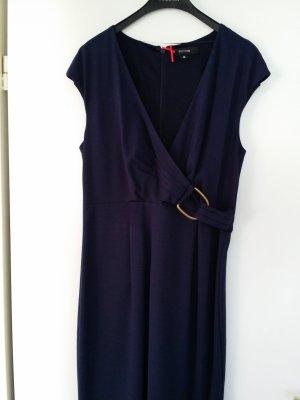 Comma Kleid dunkelblau