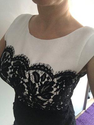 Comma Kleid  gr.40  Schwarz Weiß