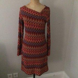 Comma Vestido de lana bermejo-rojo