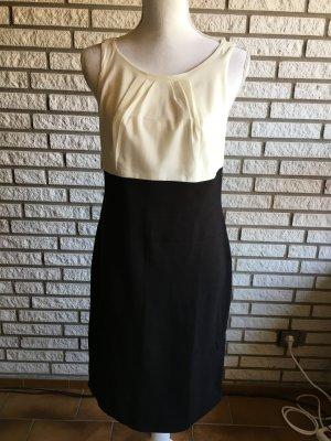 Comma Kleid schwarz weiß