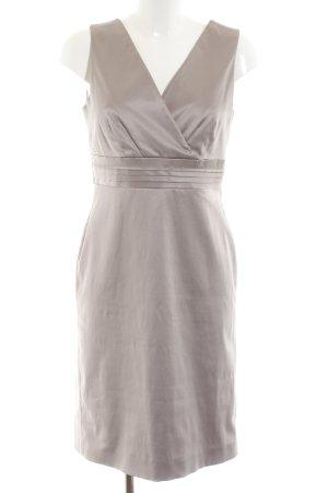 Comma Empire Dress light grey elegant