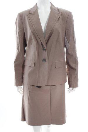 Comma Kostüm graubraun klassischer Stil