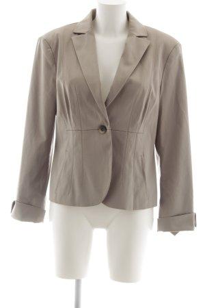 Comma Kurz-Blazer beige Business-Look