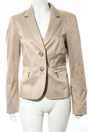 Comma Kurz-Blazer beige Business-Look