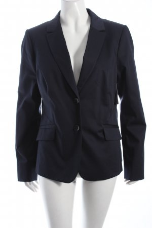 Comma Kurz-Blazer dunkelblau Business-Look