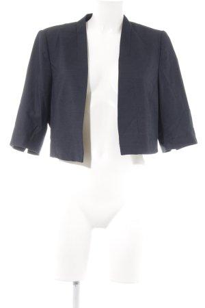Comma Kurz-Blazer dunkelblau Elegant