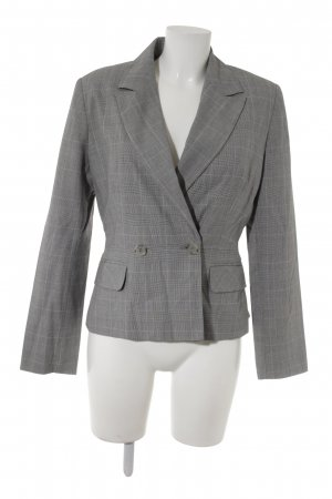 Comma Kurz-Blazer Glencheckmuster Business-Look