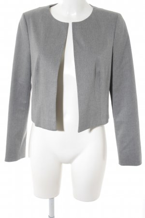 Comma Kurz-Blazer grau Business-Look
