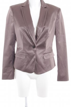 Comma Kurz-Blazer graubraun Business-Look