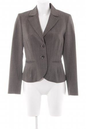 Comma Short Blazer oatmeal-black brown business style