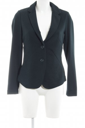 Comma Kurz-Blazer petrol Retro-Look