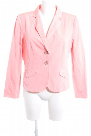 Comma Kurz-Blazer rosa Casual-Look