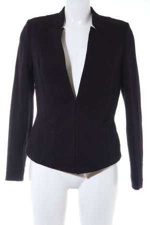 Comma Kurz-Blazer schwarz Casual-Look