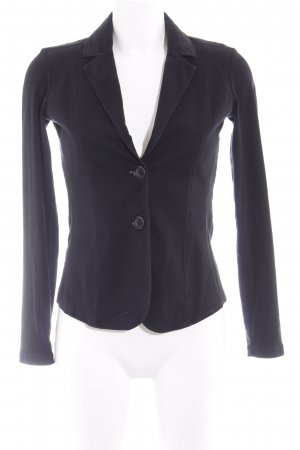 Comma Kurz-Blazer schwarz Elegant