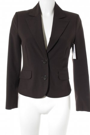 Comma Kurz-Blazer schwarzbraun Business-Look