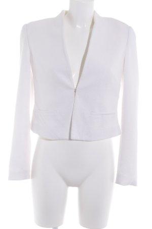 Comma Kurz-Blazer weiß Elegant