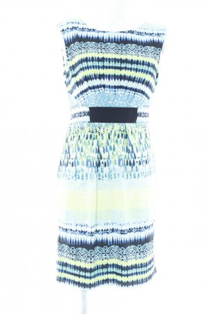 Comma Shortsleeve Dress abstract pattern casual look