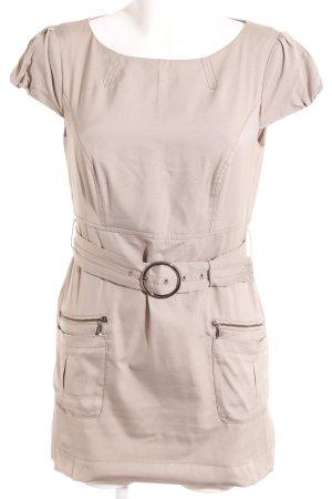 Kleid comma beige spitze