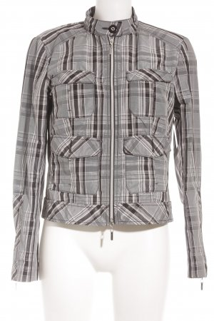 Comma Short Jacket check pattern casual look