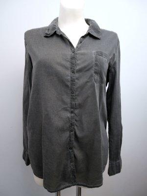 COMMA: Langärmlige Bluse in Used-Look * Grau * 40 * wieNEU!!