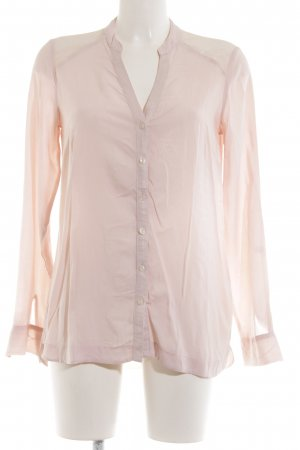 Comma Langarm-Bluse pink Business-Look