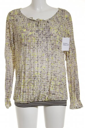 Comma Langarm-Bluse mehrfarbig klassischer Stil
