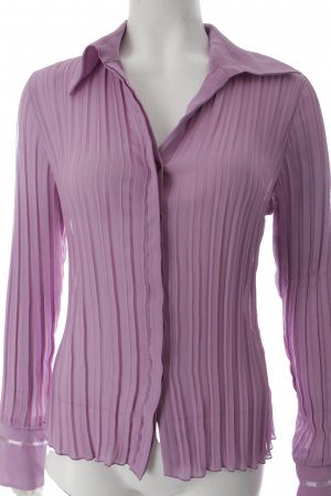 Comma Langarm-Bluse rosa Elegant