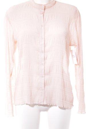 Comma Langarm-Bluse rosé Business-Look