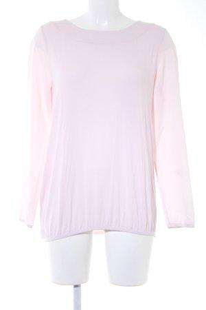 Comma Langarm-Bluse rosé Casual-Look