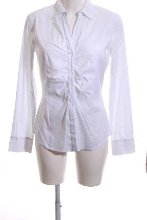 Comma Camisa de manga larga blanco estilo «business»