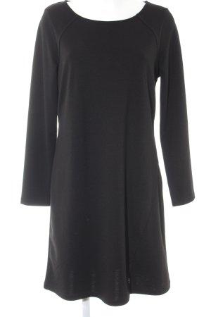 Comma Vestido de manga larga negro look casual