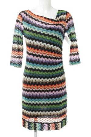 Comma Longsleeve Dress zigzag pattern casual look