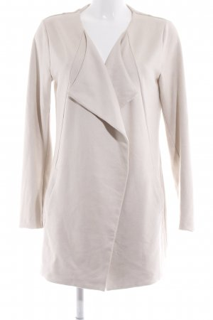 Comma Lange Jacke creme Casual-Look