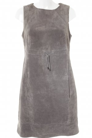 Comma Leather Dress grey casual look