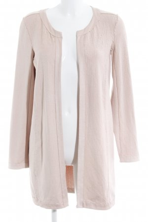 Comma Leather Coat pink casual look