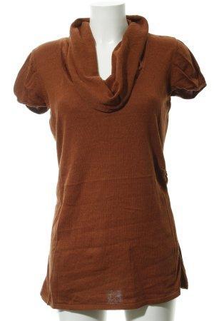 Comma Longshirt cognac Casual-Look