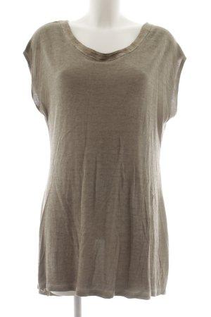 Comma Camisa larga marrón grisáceo look casual