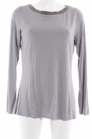 Comma Longsleeve grau Casual-Look