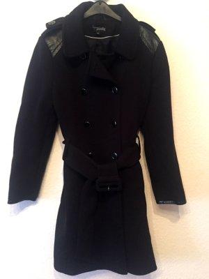 Comma Mantel Jacke Gr. 34 S schwarz