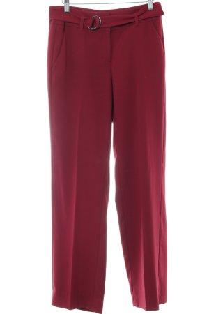 Comma Pantalone Marlene rosso stile casual