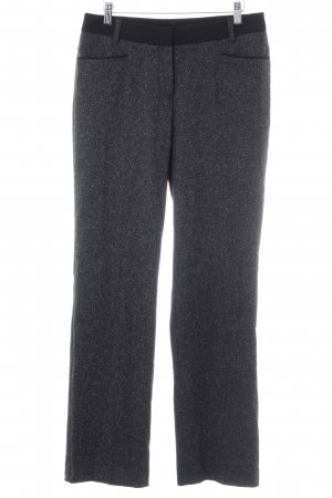 Comma Marlene Trousers anthracite flecked casual look